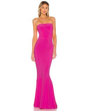 Вечернее платье без бретелек эластичное Norma Kamali
