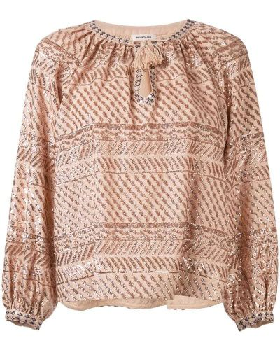 Блузка розовая Manoush