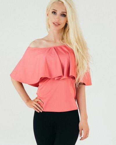 Блузка коралловый красная Подіум