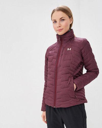 Утепленная куртка осенняя бордовый Under Armour