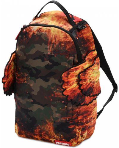 Z paskiem plecak na paskach z aplikacjami Sprayground
