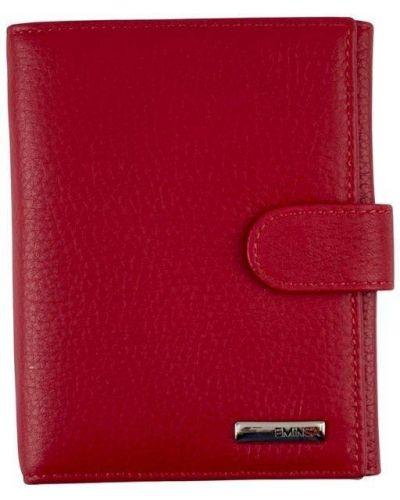 Кожаный кошелек - красный Eminsa