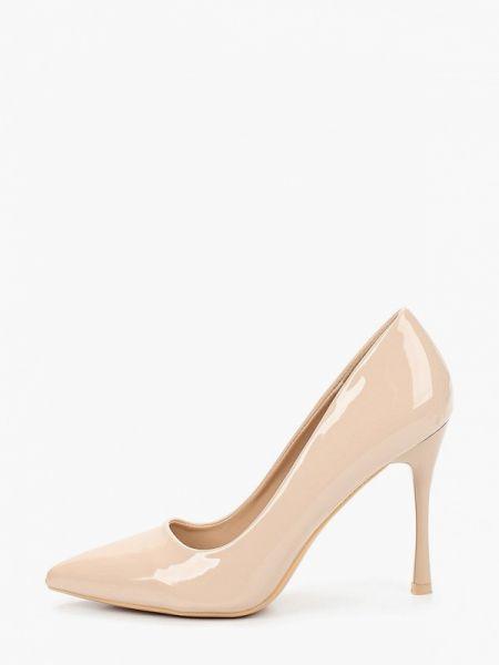 Туфли-лодочки кожаные розовый Tulipano