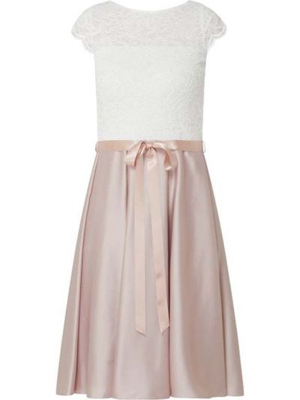 Sukienka koktajlowa - różowa Swing