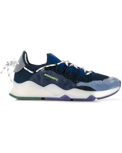 Кроссовки сетчатые - синие Brimarts