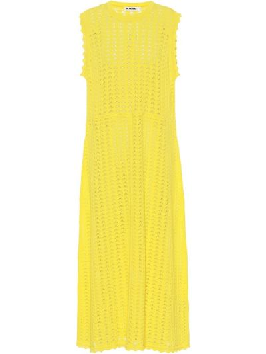 Платье желтый Jil Sander
