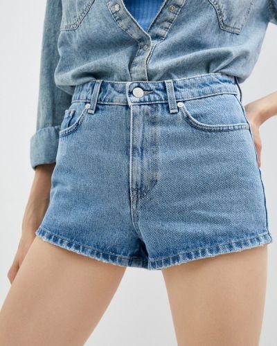 Джинсовые шорты Chiara Ferragni Collection