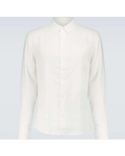 Biała koszula na co dzień Derek Rose