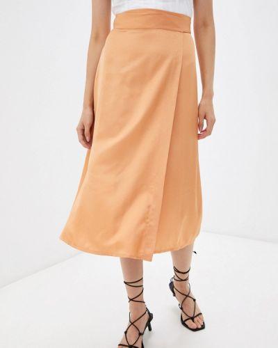 Прямая юбка - оранжевая Dorogobogato