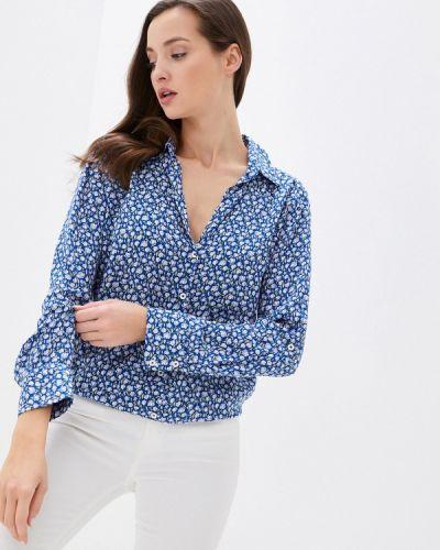 Синяя блузка с длинными рукавами United Colors Of Benetton