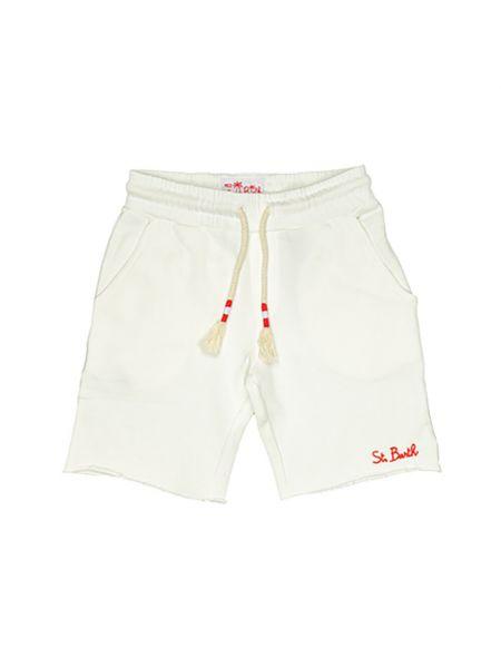 Białe bermudy Mc2 Saint Barth