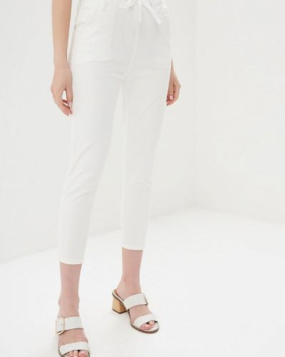 Зауженные джинсы - белые Marissimo