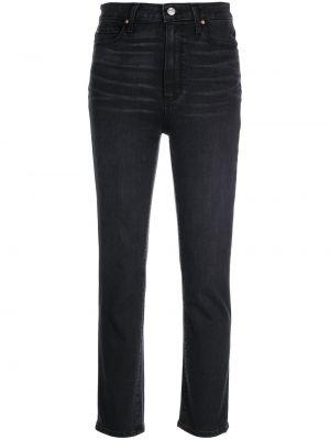 Прямые джинсы классические - черные Paige