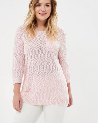Розовый джемпер Zizzi