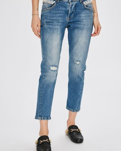 Джинсы бойфренды mom с низкой посадкой Guess Jeans