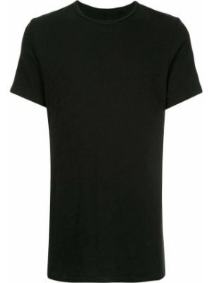 Koszula krótkie z krótkim rękawem prosto czarna Rag & Bone