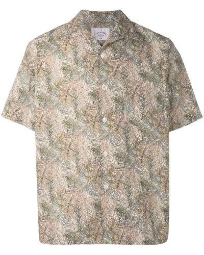 Рубашка с короткими рукавами фланелевая с принтом Portuguese Flannel
