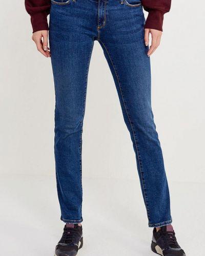 Синие прямые джинсы Colin's