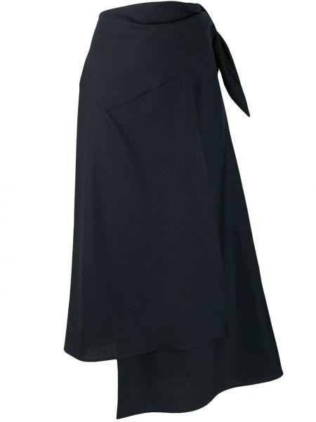 Spódnica ciemny asymetryczny Erika Cavallini