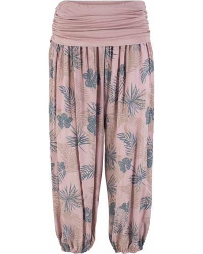 Свободные брюки с рисунком Bonprix