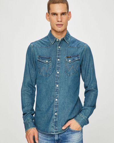 9b8f8be8791 Купить мужские джинсовые рубашки Wrangler (Вранглер) в интернет ...
