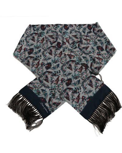 Jedwab niebieski parasol Dolce And Gabbana