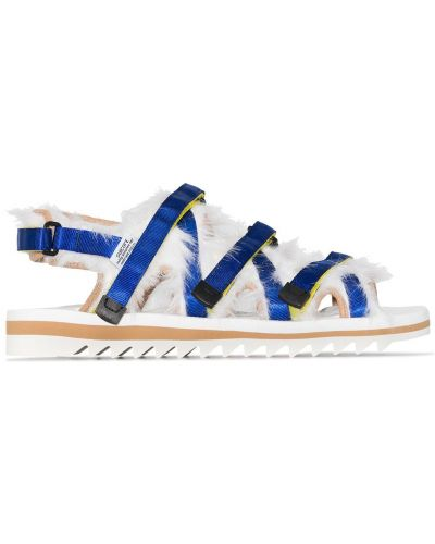 Nylon biały sandały Suicoke