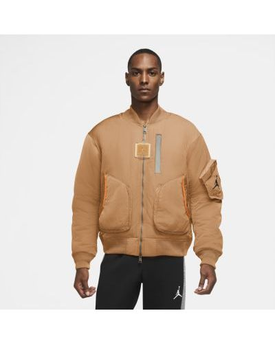 Утепленная куртка на молнии Nike