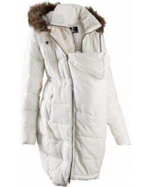 Куртка с капюшоном утепленная спортивная Bonprix