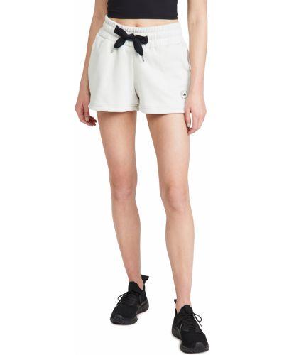 Ватные хлопковые шорты с карманами Adidas By Stella Mccartney