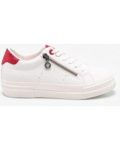 Белые кроссовки S.oliver