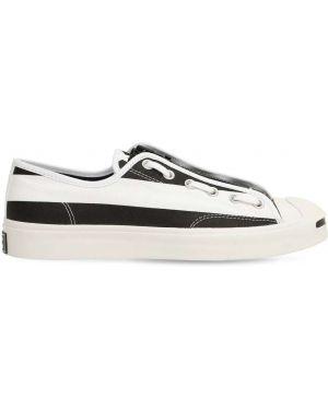 Czarne sneakersy sznurowane koronkowe Converse X The Soloist