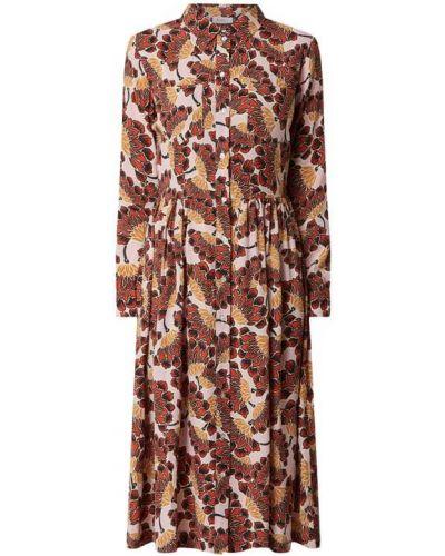 Sukienka rozkloszowana vintage - różowa Rich & Royal