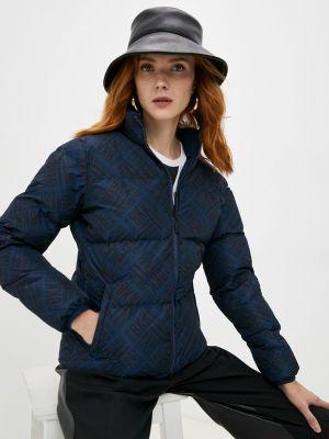 Утепленная куртка - синяя Bikkembergs