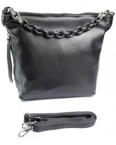Кожаная сумка - серая Parse