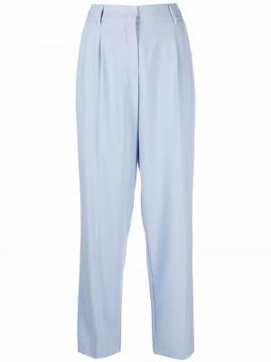 Niebieskie spodnie z paskiem Blanca Vita