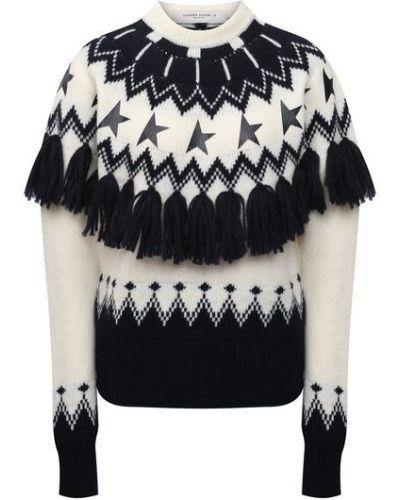 Шерстяной свитер - белый Golden Goose Deluxe Brand
