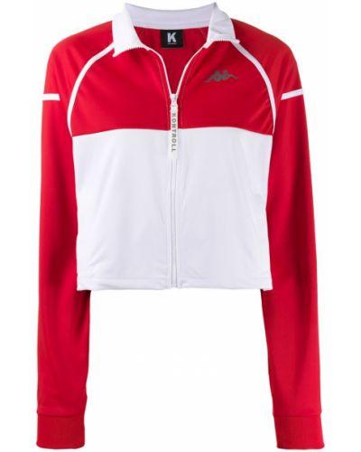 Красная спортивная куртка Kappa Kontroll