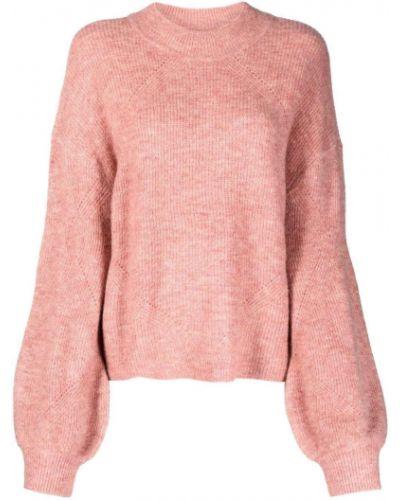Розовый акриловый джемпер Alessia Santi