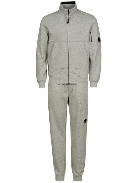 Спортивный костюм на молнии - серый C.p. Company