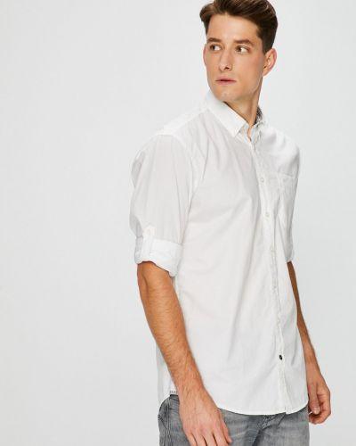 Рубашка с длинным рукавом однотонная хлопковая Camel Active