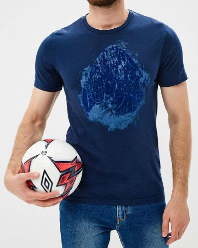 Синяя футболка Only & Sons