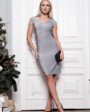 Вечернее платье мини с V-образным вырезом Leleya