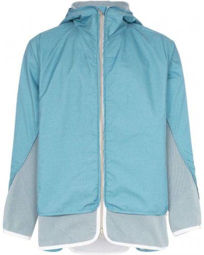 Синяя куртка с капюшоном на молнии Byborre