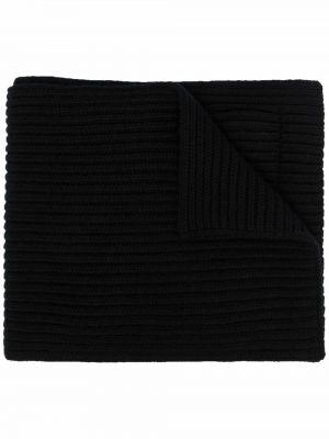 Szalik wełniany - czarny Valentino