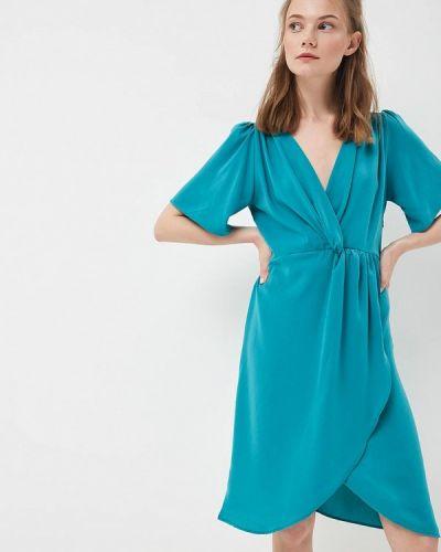 Бирюзовое платье весеннее Sweewe