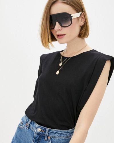 Черная футболка с короткими рукавами Colcci