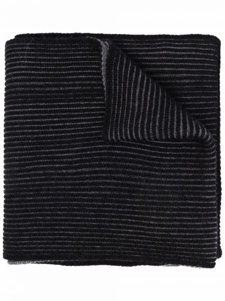 Шерстяной шарф - черный Boss Hugo Boss