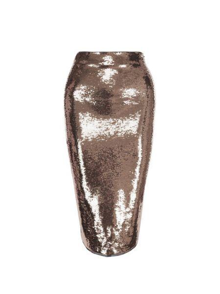 Юбка карандаш с пайетками прямая Tom Ford