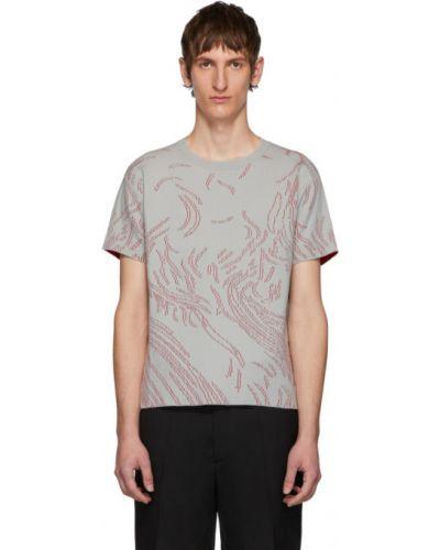 С рукавами рубашка с короткими рукавами с воротником стрейч жаккардовая Namacheko